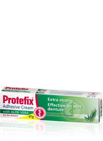 Protefix® Adhesive Cream with Aloe Vera